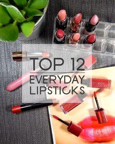 My 12 Favourite Everyday Lipsticks - Kalter Kaffee