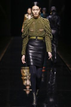 BALMAIN AUTUMN / WINTER COLLECTION 2014 / 2015 #EZONEFASHION