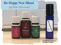 Be Happy Now Blend - #YoungLiving #EssentialOils - MySixRingCircus.com