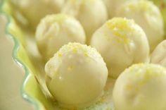 Key Lime Cake Balls