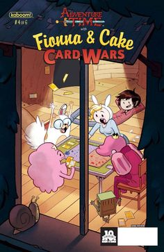 Adventure Time: Fionna & Cake Card Wars (2015) Issue #4