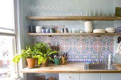 morocan tiles kitchen - Google Search