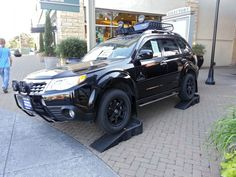 The Primitive Edition Subaru Forester.