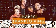So thankful for our #TheVoice fam today. Happy Thanksgiving, y'all!