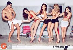 The Pretty Little Liars Cast Sizzles in This New GQ Shoot #summer #beach trendhunter.com