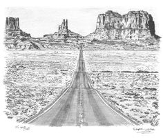 Grand Canyon - drawings and paintings by Stephen Wiltshire MBE