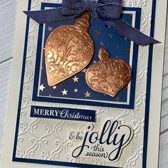 Chrismas Cards, Simple Christmas Cards, Stampin Up Christmas, Xmas Cards, Christmas Themes, Handmade Christmas, Holiday Cards, Christmas Crafts, Christmas 2019