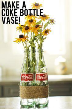 Make a Soda Pop Bottle Vase!