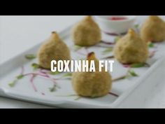 Coxinha fit - Lucilia Diniz