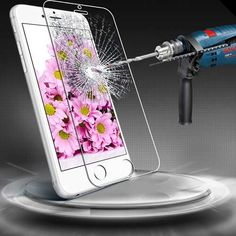 Aerb Ballistic Glass Screen Protector for iPhone 6