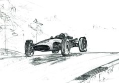 Classic Racing Car Vintage F1 Racing Car from by ULTRASONICBOOM