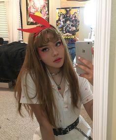 @dracuina I Love Girls, Cool Girl, Dying My Hair, Aesthetic Hair, Beautiful Person, Beautiful People, Dream Hair, Cute Makeup, Ulzzang Girl