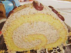 Biskuitrolle mit Kaffeecreme (Rezept mit Bild) von sandy07 | Chefkoch.de