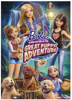 Barbie and her sisters in a great Puppy Adventure Is Out on Blu ray and DVD. Don't forget to watch.