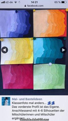 Silhouette portrait ombré - art lessons - Silhouette portrait ombré Sie sind an der richtigen Stelle für kunstunterricht Hier bieten wir I - Middle School Art Projects, Art School, High School, Value In Art, 6th Grade Art, Ecole Art, Art Curriculum, Art Lessons Elementary, Elementary Schools