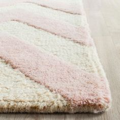 Dalton Textured Rug - Light Pink / Ivory (8' X 8' Square) - Safavieh, Light Pink/Ivory