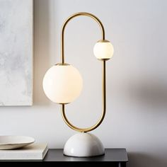 Shop bedside table lamps from west elm. Find a wide selection of furniture and decor options that will suit your tastes, including a variety of bedside table lamps. Design Tisch, Luminaire Design, West Elm, Lampe Art Deco, Lampe Decoration, Rustic Lamps, Modern Table Lamps, Unique Lamps, Bedroom Lamps