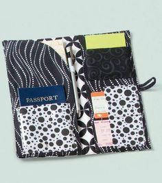 Passport Case - downloadable pattern from Joann.com