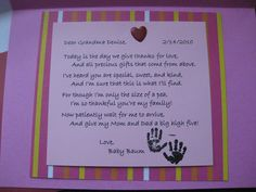 Pregnancy Announcement Poems to Grandparents | Pregnancy Announcement Poems For Grandparents Happy birthday grandpa ...
