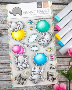 """578 Likes, 43 Comments - Amy (@sharingnewlove) on Instagram: """"Day one #coloring for #thedailymarker30day challenge using the new @mamaelephant Fly With Me…"""""""
