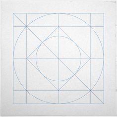 #205 Harmony – A new minimal geometric composition each day