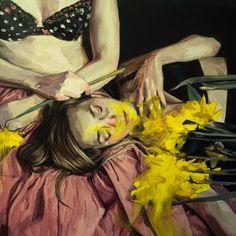 Helene Delmaire artist activities on Facebook and Instagram