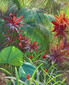 April W. Davis | Artist | Landscape Cityscape Paintings | South Florida