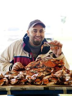 Duff Goldman has a sweet spot for Maryland crabs. He tells Food Network Magazine how to catch and cook them like a pro.