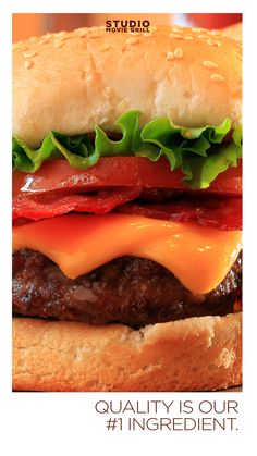 Cheeseburger: comfort food