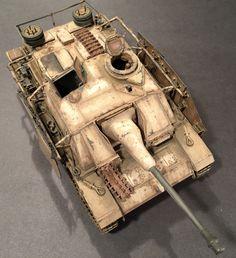 #Stug III #Ausf.G May 1944 Mid-Late Production. 1/35 Scale German #Tank #Model.