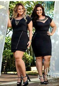 Modelos de vestidos para gorditas sexis