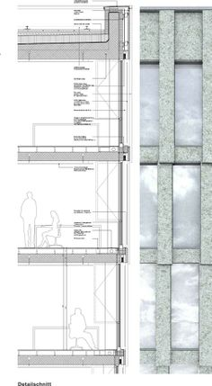 wall section by David Chipperfield.