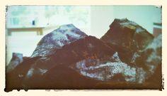 Montañas de lija.