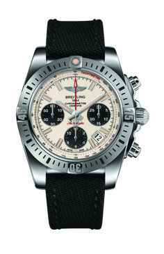 """Breitling Chronomat Airborne Watch - by Maximilien - See more on aBlogtoWatch.com """"Breitling is well known for producing some of the most coveted and most used professional pilot watches. Go to any airshow and you are sure to see pilot enthusiasts and ex- and current pilots themselves wearing the brand's watches..."""" #ABTWBaselworld2014"""
