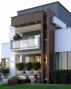 Pictures Of Modern House Designs. 20 Pictures Of Modern House Designs. 49 Most Popular Modern Dream House Exterior Design Ideas 3 Minimalist House Design, Modern Small House Design, Simple House Design, Modern Design, Small Modern Houses, Minimalist Interior, House Front Design, House Design Plans, Bungalow House Design