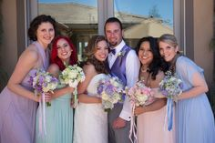 Pastel wedding inspiration. Floral by Nina with By Request.  www.byrequest.us Photo by Christine Sedley