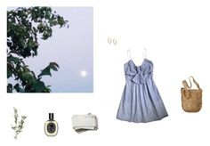"""""""Breeze"""" by rebesirenita ❤ liked on Polyvore featuring MASSCOB, Diptyque, Mossimo and Mondevio"""