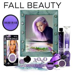 """""""Purple Hair for Fall 2015"""" by ragnh-mjos ❤ liked on Polyvore featuring beauty, Alterna, COLORSMASH, Catwalk by TiGI, Shiseido, Kosta Boda, Diesel, Lise Watier, Beauty Rush and Beauty"""