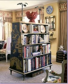 This is probably the coolest bookshelf that ever was.