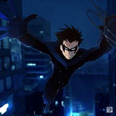 Young Justice Nightwing image information