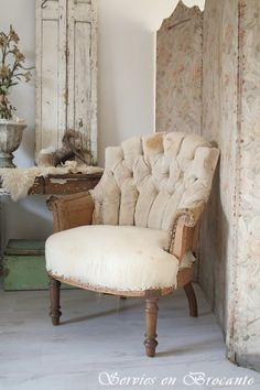 Prachtige stoel/ Wonderful chair