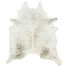 DwellStudio Light Grey Cowhide | DwellStudio