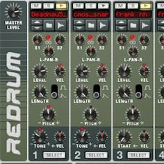 Propellerheads Redrum is an awesome drum machine, and despite the arrival of Kong, can still turn heads. Mo Volans delves beneath the surface to show you just h Reason Music, Music Recording Studio, Digital Audio Workstation, Music Software, Recorder Music, Beneath The Surface, Drum Machine, Audio Sound, Sound Design
