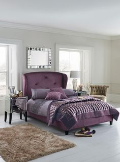 Buy Antoinette Upholstered Bed from the Next UK online shop