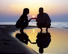 love makes life beautiful: love pictures by priyatham Love Pictures, Beach Pictures, Couple Pictures, Forced Perspective, Perspective Photos, Romantic Times, Old Flame, Social Determinants Of Health, Beach Walk