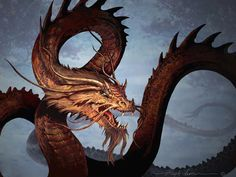 Jotei by Hugh Jamieson #Dragon #Magick