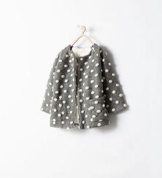 Manteau de la nouvelle collection AH 2014 Zara enfant