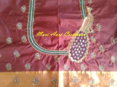 "Customized order ITEM CODE - MACDB-001 Contact For Price. Whats-app: 9962983940 Orders taken for more updates do visit our facebook page "" MARI AARI CREATIONS ""  9962983940(whatsapp)"
