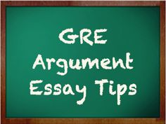 In order to receive a high score on the GRE Analytical Writing Section, it is vital that test-takers under-stand the elements of an argument and not just the elements of good writing. Gre Prep, Test Prep, Pa School, Graduate School, School Essay, Argumentative Writing, Essay Writing, Gre Tips, Gre Study