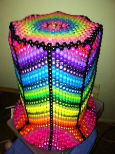 Kandi Top Hat. this is really to epic and would seriously take some Kandi making skills #skillztopaythebillz